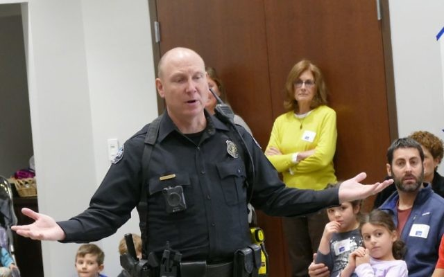 Cory Beagal from the Sandy Springs Police Department discusses how children should respond to stranger danger.