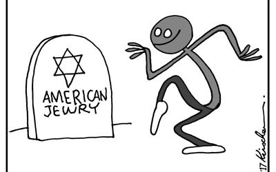 Cartoon by Yaakov Kirschen, The Jerusalem Post