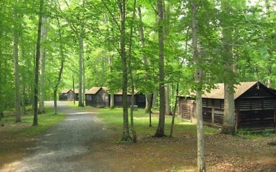 Rabbi Shmuel Krawatsky was the head of the lower boys division Of Camp Shoresg in the summer of 2015 when the alleged abuse happened. Pictured is a stock photo of an American campground. (WIkimedia Commons)