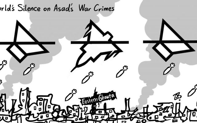 Cartoon by Emad Hajjaj, Alaraby Aljadeed newspaper, London
