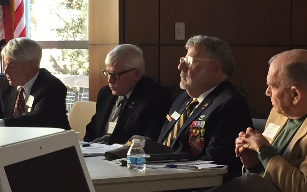 (From left) Charles Lutin, Roger Soiset, Cary King and Larry Taylor agree that the stories of Vietnam War service should be told.