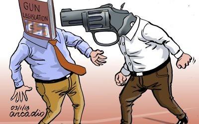 Cartoon by Arcadio Esquivel, Costa Rica