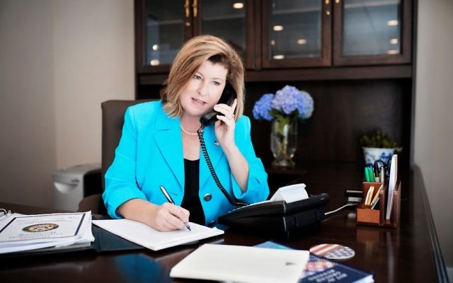 Rep. Karen Handel is among the lawmakers Weber School students lobbied while they were in Washington for the AIPAC Policy Conference in March.