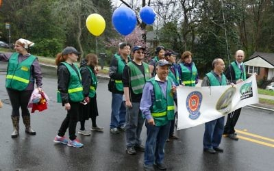 While Community Emergency Response Team members and trainees are out in force for the parade ...