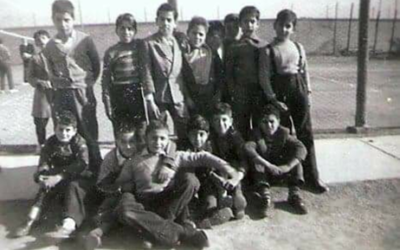 Maurice Shohet (far right in suspenders) experiences everyday life as a boy in Iraq in the 1950s.