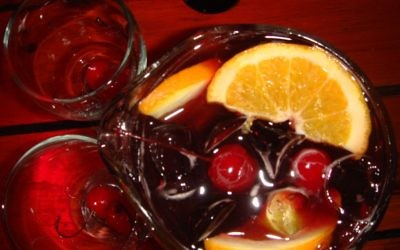 Sangria is an excellent, flexible option that a busy seder host can prepare in advance. (Photo by Angeli Laura De via Creative Commons)