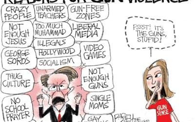 Cartoon by Pat Bagley, The Salt Lake Tribune, Utah