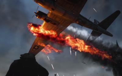 "A scene from ""Call of Duty: World War II"" (screen grab)"