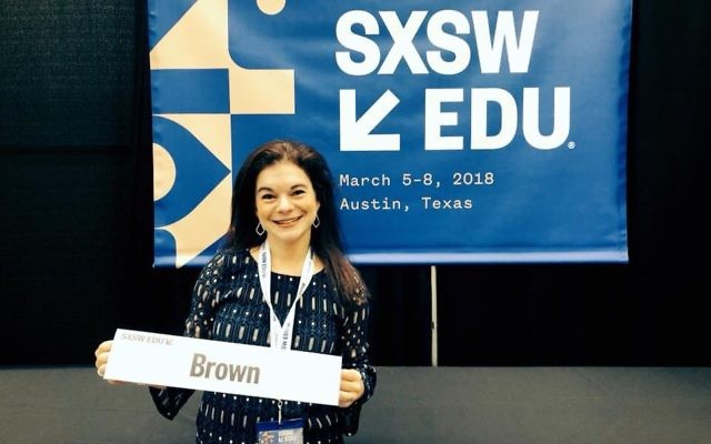 Stacy Brown designed the panel discussion in which she participated in Austin.