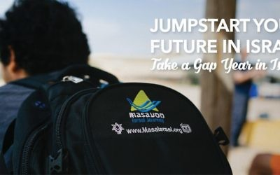 Masa Israel (www.masaisrael.org) is a central repository for Israel's gap year programs.