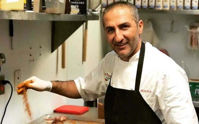 Chef Mimmo Alboumeh says customers keep coming back because he uses the highest-quality ingredients to prepare his Mexican dishes.