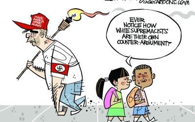 Cartoon by David Fitzsimmons, The Arizona Star, Tucson, Ariz.