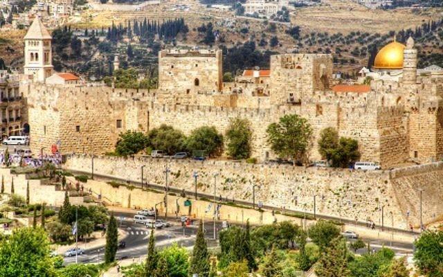 Jerusalem's Old City awaits Hadassah's October mission. (Photo by Noam Chen, Israeli Ministry of Tourism)