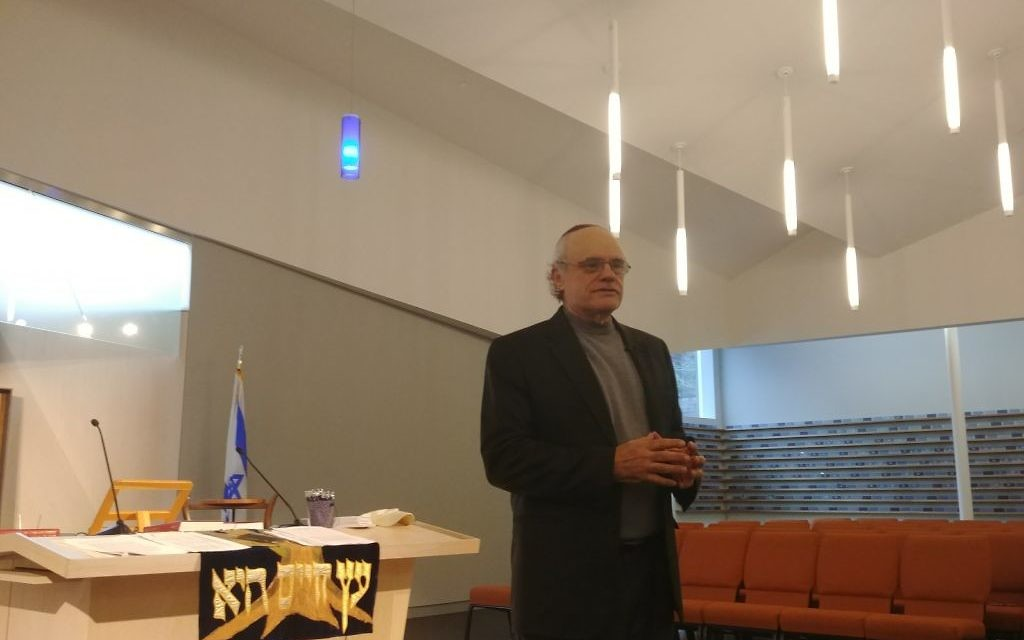 Ken Stein speaks about what Israel has accomplished in 70 years and what remains unfinished Sunday, March 25, at Congregation Or Hadash.