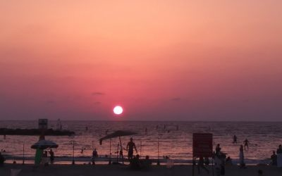 Israel's beaches and sunsets can match its history and religious sites.