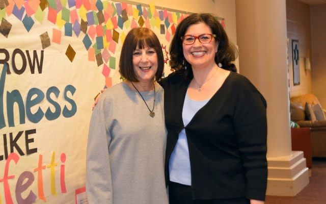 Raye Lynn Banks (left) is retiring from the Sunshine School, to be replaced as director by Nancy Goldstein Parker.