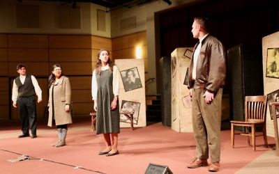 "The Georgia Ensemble Theatre performs ""And Then They Came for Me"" at the Walker School on March 16."
