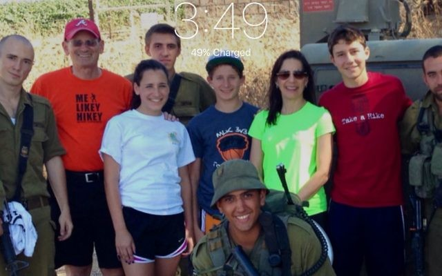 The Atlanta family Robinson visits Israel.