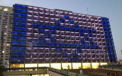 Yom HaAtzmaut (Israel Independence Day) is special in Tel Aviv.