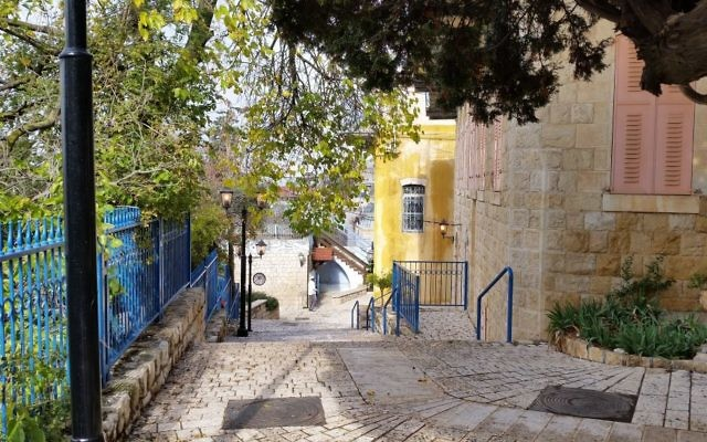 Mort Barr took this photo of Tzfat (Safed) in November 2014.