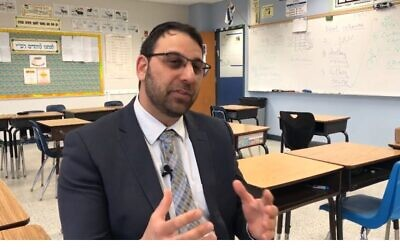Rabbi Meir Cohen is the new head of Torah Day School of Atlanta. (YouTube screen grab)