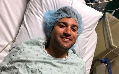 Ben Levy didn't ask about the pain from the surgery to extract bone marrow but says he was ready to go through with the donation no matter what.