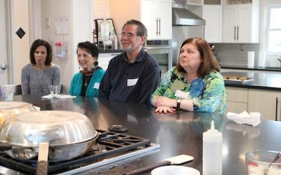 Senior Day includes cooking demonstrations for agave cheesecake. (Photo courtesy of the Marcus JCC)