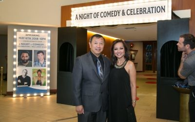 Jerry and Lydia Quan arrive for the gala