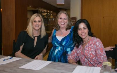 A friendly welcome awaits arrivals at the Etz Chaim gala May 6.