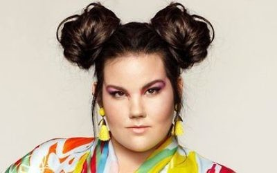 Netta Barzilai is the Eurovision champion. (Photo via Twitter, @nettabarzilai)