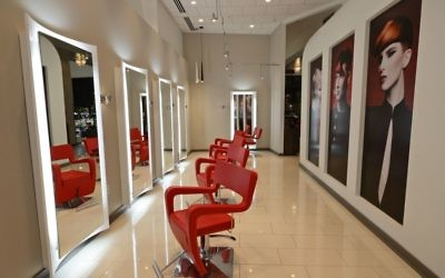 Van Michael Salon offers 14 levels of stylist for customers to choose from, depending on budget.