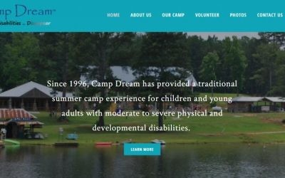 The Camp Dream website is at www.campdreamga.org. (Screen grab)