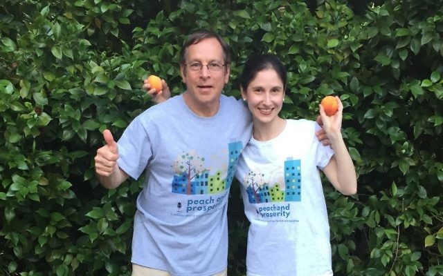 """Jeff and Julia Levy celebrate Atlanta entrepreneurs and small businesses on their """"Peach and Prosperity"""" podcast."""