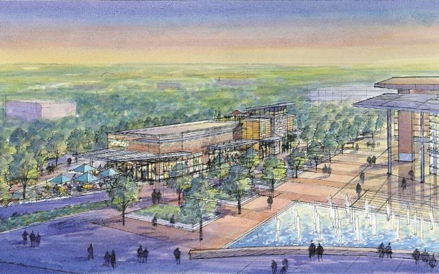 City Springs is being hailed as the central community gathering place for the new city and its true heart or downtown.
