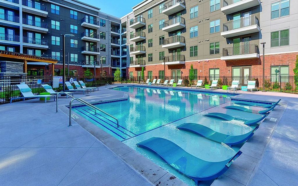 Photos courtesy of Aston City Springs - Aston offers a lavish pool  for residents to use.