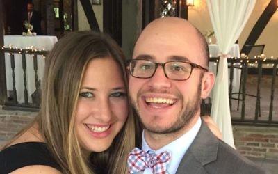 Newlyweds Rachel Goffman and Ross Kressel