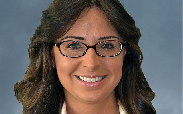 Gabrielle Stearns, the new Jewish Family and Career Services chief development officer.