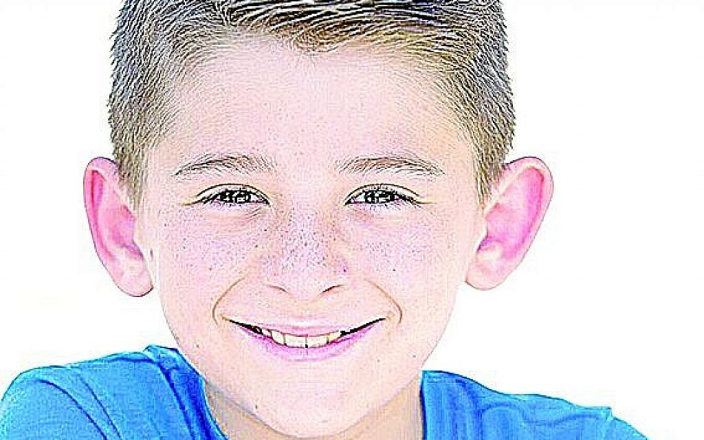 12-year-old actor, Geordie Francombe.