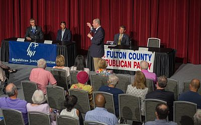 Aug. 26 Republican candidate forum held at the City Springs theater in Sandy Springs.
