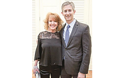 Marcia Greenburg Davis, retired executive director of Crohn's & Colitis Foundation Georgia chapter, and Andrew Goldberg, board president, worked to include more medical professionals in the organization.