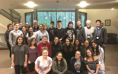 Participants of the Center for Israel Education's first Teen Institute in Atlanta in April 2018.