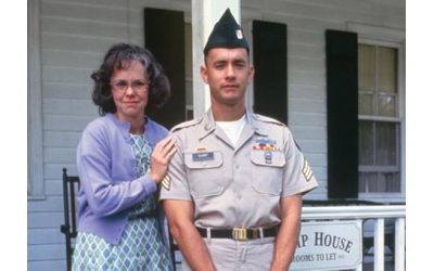 "In the film ""Forrest Gump,"" Sally Field played Tom Hanks' mother who, ""always said, 'Life was like a box of chocolates. You never know what you're gonna get.'"""
