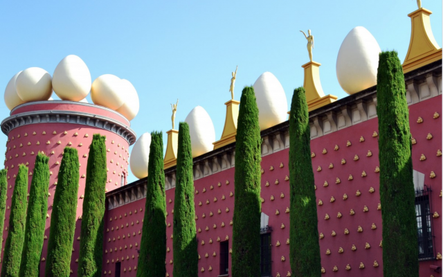 Salvadore Dali's Theatre-Museum.