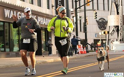 Participants in the second annual Downtown Daffodil Dash can bring their dogs on leashes.