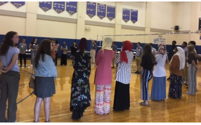 Peace by Piece brings together students from Jewish, Catholic and Muslim schools to improve understanding between the faiths.