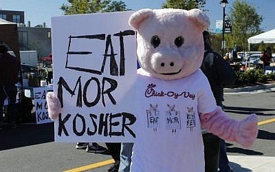 Sean Evett of Suncoast Multimedia, LLC // Eat Mor Kosher, a play on the slogan of Atlanta-based fast food chicken restaurant.