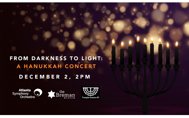 Chanukah Concert At The Breman features members of the Atlanta Symphony Orchestra.