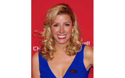 Sara Blakely, CEO of SPANX, empowers women through her foundation.