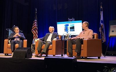 Joined by his son, Matthew, Joe Lieberman, talked with David Lewis about his new book, which explores freedom and law from the Jewish perspective.
