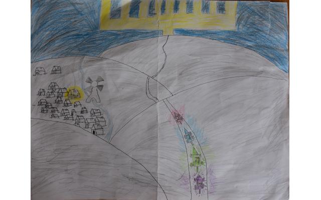 Light the Night by Binny Schulgasser from Torah Day School of Atlanta, Fifth Grade